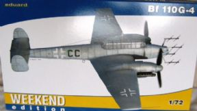 EDK7422 1/72 Messerschmitt Bf 110G-4 Nightfighter (Weekend Series)